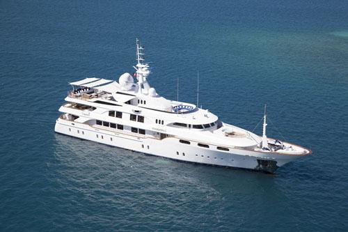 MY Starfire - luxury superyacht charter