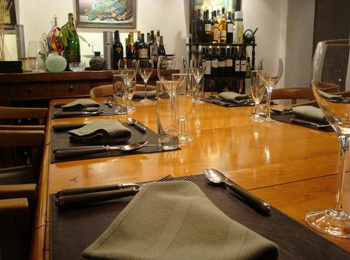 Casa Saltshaker restaurant - Argentina