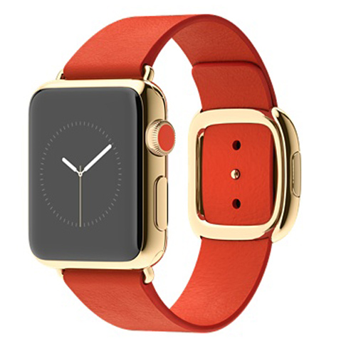 Apple Watch Edition - 18-karat yellow gold case