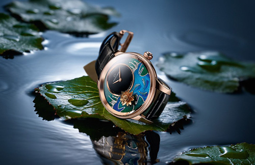 Jaquet Droz - Petite Heure Minute Relief Carps luxury watch