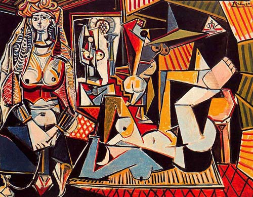 Pablo Picasso Women of Algiers art painting