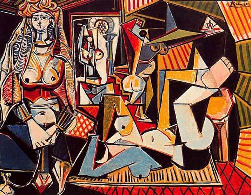 Pablo Picasso Women of Algiers art painting