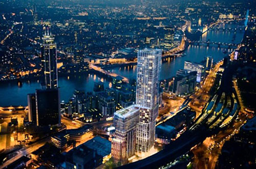 Aykon Tower luxury apartments - London