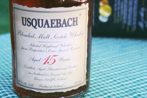 Usquaebach 15 Year Old Blended Malt Scotch