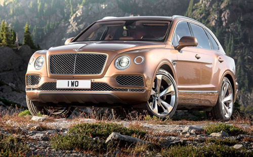 2016 Bentayga SUV - Bentley