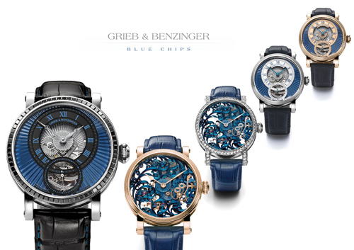 Grieb & Benzinger Blue Chips watch collection