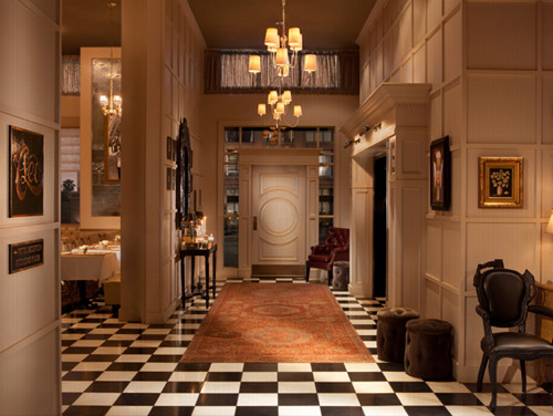 The Redbury Hotel - interior luxury decor