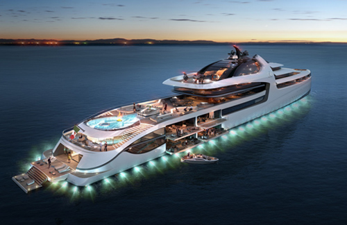 Admiral X Force 145 - Ultimate Luxury Yacht