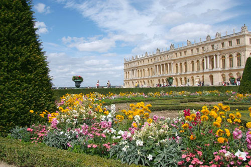 Palace at Versailles in France