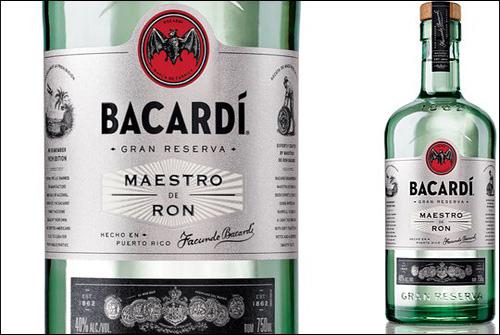 Bacardi Gran Reserva Maestro de Ron rum