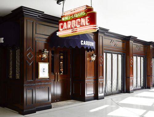 Carbone Restaurant at ARIA Resort & Casino in Las Vegas