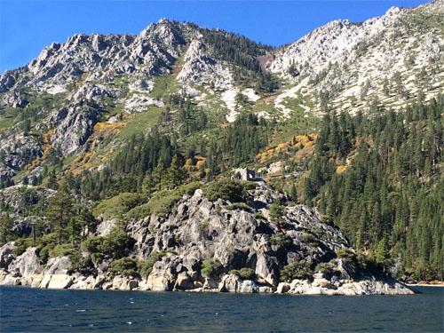 Lake Tahoe - Emerald Bay - Fannette Island - Tea House