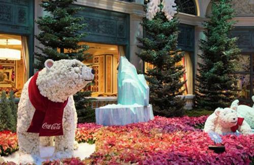 Bellagio Conservatory Botanical Garden - Christmas