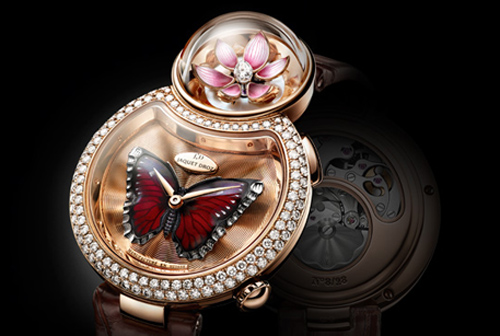 Lady 8 Flower Luxury Ladies Watch from Jaquet Droz
