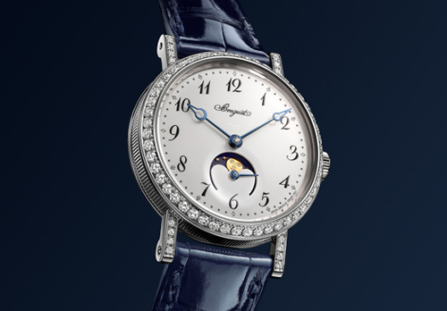 Breguet Classique Phase de Lune 9088 women watch