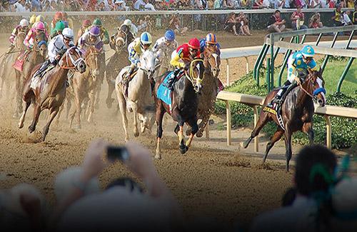 Kentucky Derby horse race- Churchill Downs