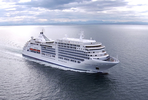 Silversea crusie ship - see the world on a luxury cruise