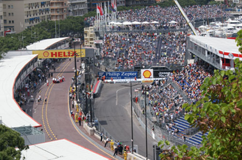 Monaco Grand Prix - F1 car race