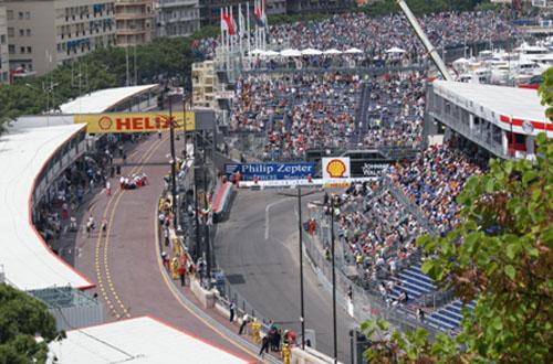 Monaco Grand Prix - F1 car race