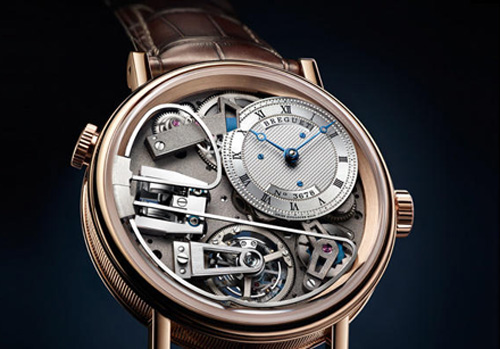 Tradition Repetition Minutes Tourbillon 7087 watch - Breguet