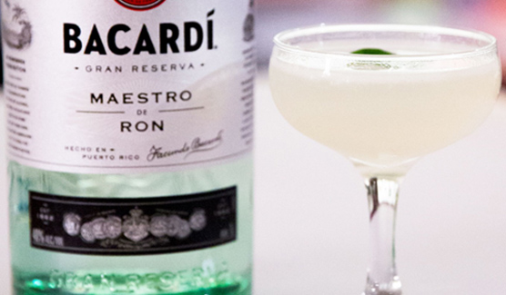 Siam Daiquiri - Bacardi rum cocktail - Bacardi Gran Reserva Maestro de Ron