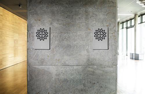 Concrete Audio speakers