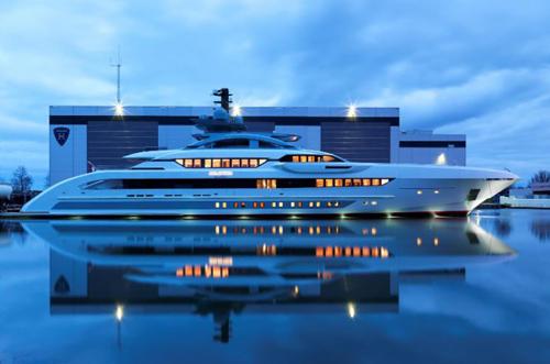 Galactica Super Nova Superyacht by Heesen Yachts