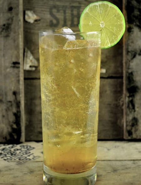 Tartan Collins cocktail - Laphroaig Single Malt Scotch Whisky