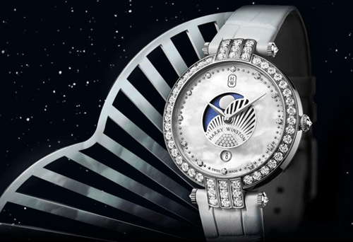 Harry Winston - Premier Moon Phase 36mm watch