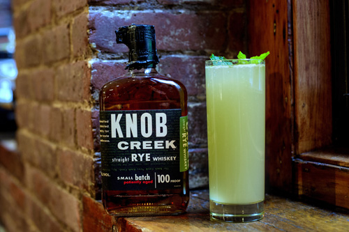 Knob Creek cocktail