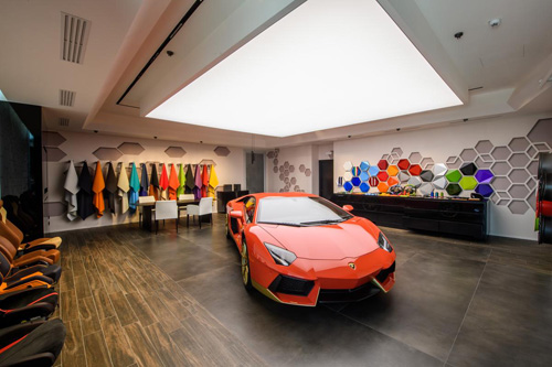 Lamborghini at the Ad Personam Studio