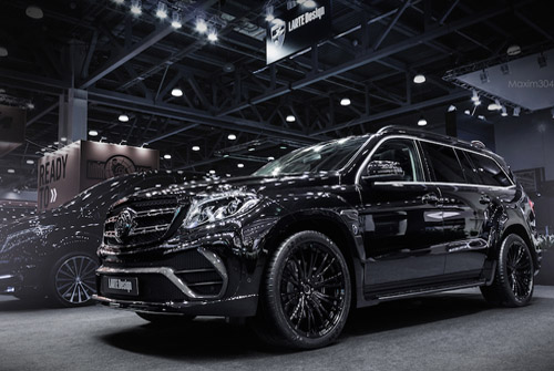 Custom Mercedes GLS Black Crystal by Larte Design