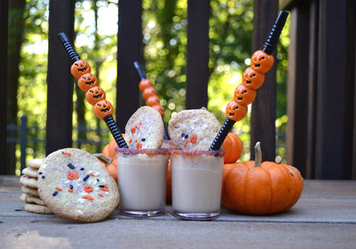 Halloween Sugar Cookie Shooter cocktail