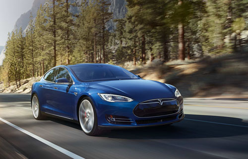 Tesla Model S 70D electric car