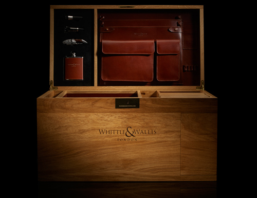 The Churchill wooden chest