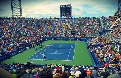 VIP tickets to a tennis tournament, pro tennis, tennis tournaments