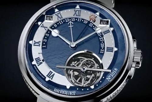 Marine Equation Marchante 5887 luxury watch - Breguet