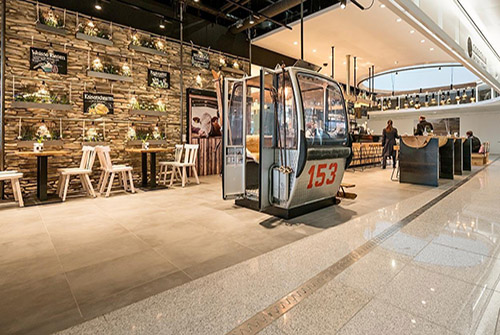 Sportalm Restaurant- Alpine Dining at the Munich Airport in Germany