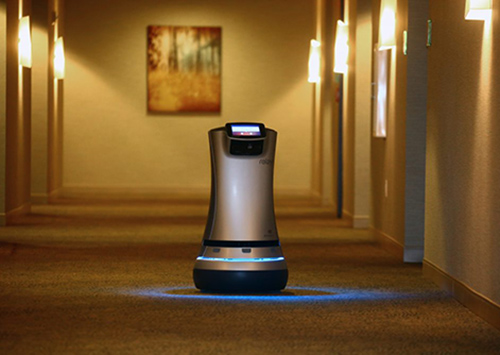 Relay robot butler - The Westin Buffalo