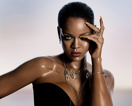 Rihanna Chopard Collection