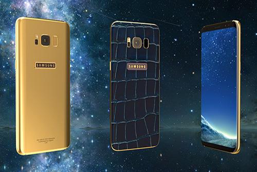 Samsung Galaxy S8 smartphone - Legend 24K gold