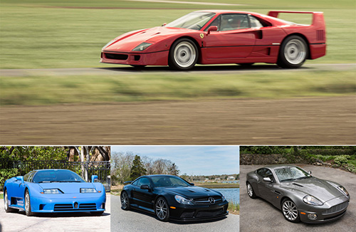 Classic Supercars at Greenwich Concours d'Elegance Auction