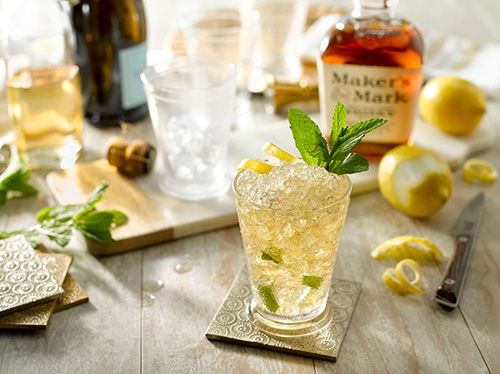 Maker's Mark Mint Julep cocktail