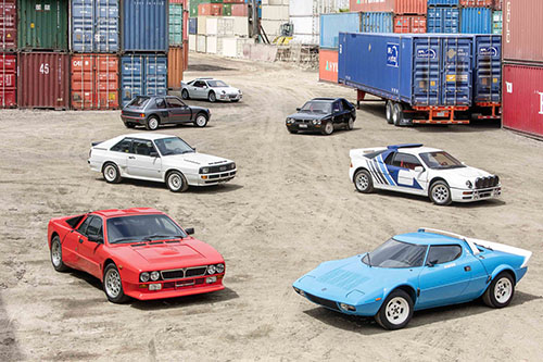 Bonhams' Quail Lodge Auction - Group B Homologation Rally Car collection
