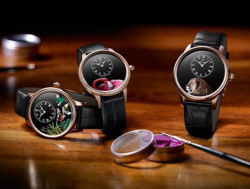 Jaquet Droz Petite Heure Minute watch collection