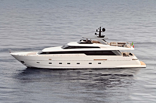 Boreal II luxury yacht