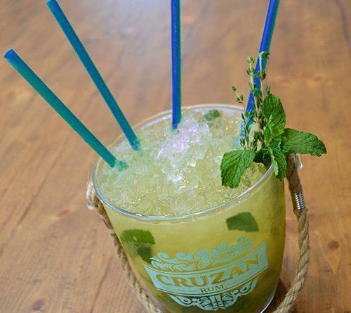 Cruzan Rum cocktail - National Rum Month