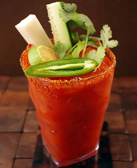 National Bloody Mary Day - Mexican Mary cocktail