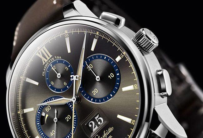 Glashütte Senator Chronograph - The Capital Edition luxury watch