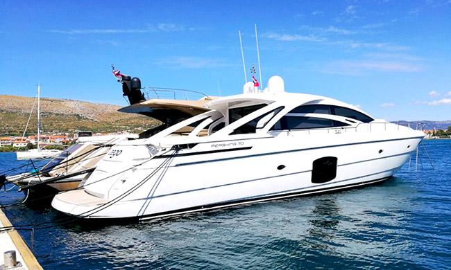 Pershing 70 Series M/Y ZEGO luxury yacht